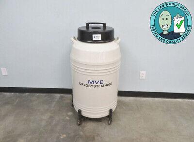 Mve Cryosystem 4000 Cryogenic Storage Tank With Warranty See Video