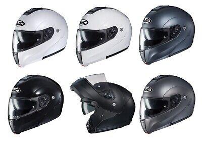 Hjc Cl Max Solid Helmet (HJC Adult CL-MAX3 Flow Modular Motorcycle Solid Helmet All Sizes)