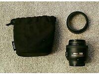 Nikon AF-S Nikkor 35mm F1.8 DX lens