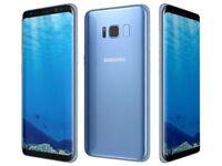 Samsung galaxy s8 coral blue unlocked ( sim free )