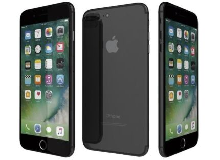 iPhone 7 Plus 256gb Gloss Black Excellent Condition