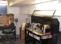 FULLY EQUIPPED SKATE SHARPENING SERVICE
