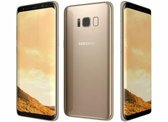 SAMSUNG Galaxy S8 Dual SIM (Gold)