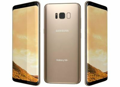 New Samsung Galaxy S8+ Increased by SM-G955U UNLOCKED 64GB 4G Android SmartPhone Gold