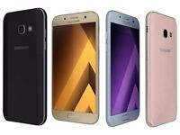 SAMSUNG GALAXY A3 2017 UNLOCKED BRAND NEW COMES WITH TWO YEARS SAMSUNG WARRANTY