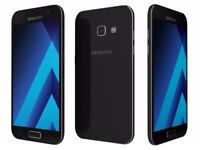 Samsung galaxy a3 2017 version, 2 days old comes with box, charger also headphone 150 ono