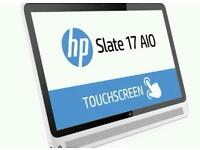 Slate hp all in one androide..tablet 17inch spray