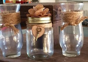 GREAT FOR WEDDING - VASES & SAND