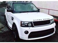AUTOBIOGRAPHY!! RANGE ROVER SPORT 2.7 WHITE - BESPOKE BODYKIT & ALLOYS - FINANCE AVAILABLE-STUNNING