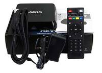 Quad Core TV Box- Free TV, Movies,Shows (Warranty + Support)