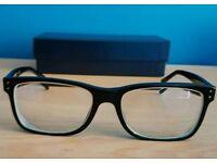 Polo Ralph Lauren glasses frame, lens and case
