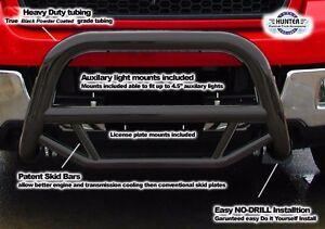 1998-2003 Dodge Durango Black Super Bull Bar powder coated bumper push bar
