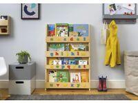 Children's Tidy Book Bookcase in Colour Natural