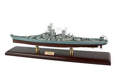 US Navy USS Missouri BB-63 Desk Top Display 1/350 WWII Battleship Ship ES Model