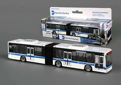 Diecast New York City Transit MTA M34 Crosstown Articulated Bus 6 Inches