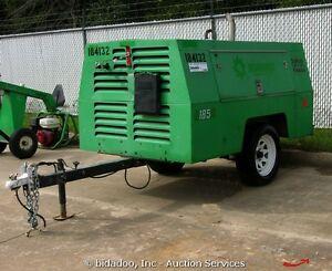 Details about 2007 sullivan d185q 185 cfm towable air compressor john