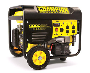 Champion Generator Model# 46555. Only $900/obo!!