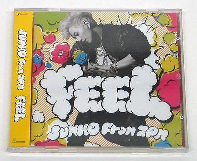 JUNHO 2PM - Feel [CD + Photo Booklet + 5 Post Cards] K-POP KPOP