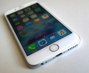 White & Silver iPhone 6