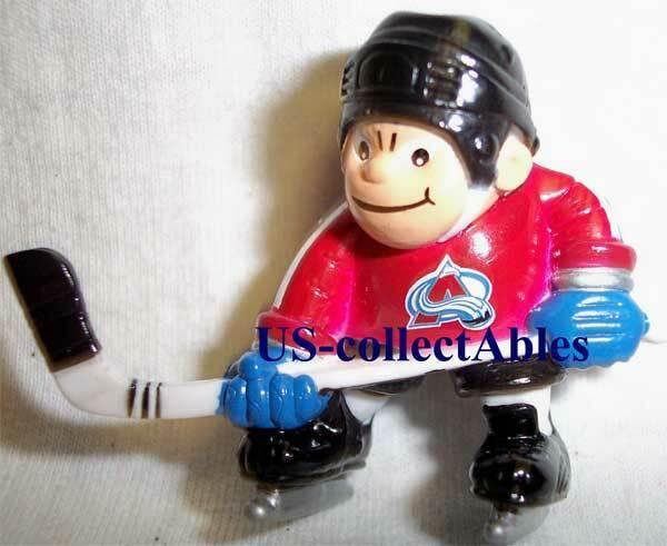 NHL Hockey Colorado Avalanche Lil Sports Brat Player Souveni