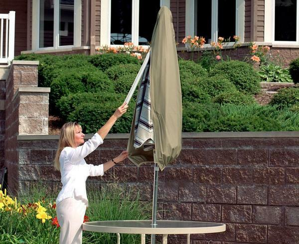 Umbrella Patio Furniture Cover | Waterproof Outdoor Protecti