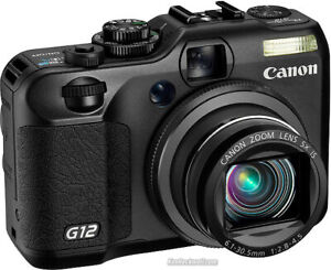 Canon PowerShot G12 camera in Mint condition