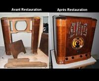 Restauration de radio antique