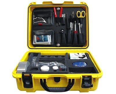 Fiber Optic Cable Termination & Splicing Tool Kit w/ a Hard Case – 3921