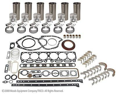 John Deere 6.404d - Inframe Engine Overhaul Kit - Mid 4000 4020 6602 7700 Jd600