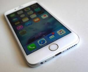 White/Silver iPhone 6 with BELL