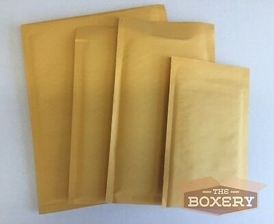 100 5 10.5 X 16 Kraft Bubble Padded Envelopes Mailers From The Boxery