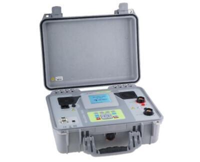 Metrel Mi 3252 Microohm 100a Low Resistance Ohmmeter Dlro 100 Amp Micro-ohmmeter