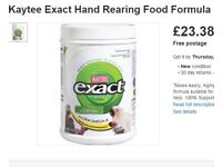 [NEARLY NEW] KAYTEE EXACT Baby Bird Hand Feeding Formula for Budgies/Cockatiels/Parrots/Etc