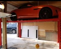 Raise your Garage Door- Highlifts and Jackshaft 403-874-7383