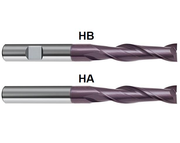Gühring VHM Hartmetall Langlochfräser Fräser  D=3mm - 20 mm Z=2 extralang
