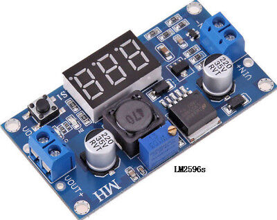 Led Dc-dc Digital Boost Step-up Voltage Converter Board Lm2577 3v-34v To 4v-35v