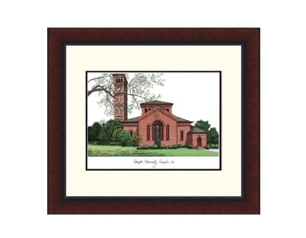 Campus Images Va990r Hampton University Alma Mater Framed Lithograph For Sale Online Ebay