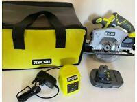 Ryobi Cordless Circular Saw One + with Lithium Battery and Charger Bag Makita Bosch