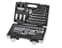 Zoll Werkzeug Koffer 92 Teile Ratsche Knarre Schlüssel Bits