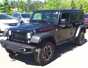 2015 Jeep Wrangler Unlimited Rubicon Rubicon! Loaded with NAV...
