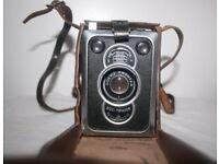 Vintage Zeiss Ikon Box Tengor Camera
