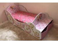 Disney princess toddler bed.