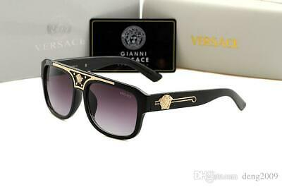 New Versace Medusa Type sunglasses Eyeglasses UV400 Siamese Lens Classic Men (Sunglasses Lens Types)