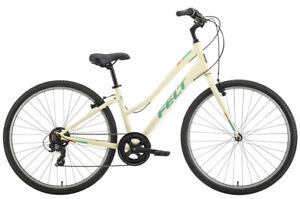 NEW 2018 Felt Verza Path 60 Stepthru Ladies Hybrid Bike