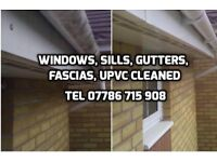 Window, Gutter, Fascia, uPVC Cleaning Coventry and Warwickshire