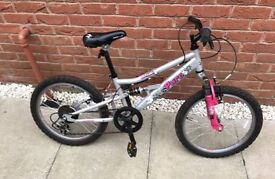 "Girls Apollo Pure 24"" bike with gears (age 9-11)"