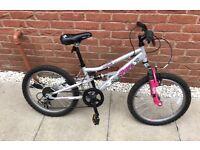 "Girls Apollo Pure 24"" bike with gears (age 9-11)"
