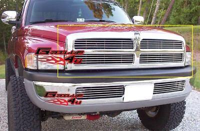 Fits 1994-2001 Dodge Pickup Main Upper Billet Grille Insert