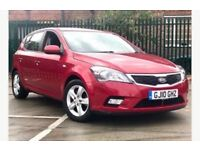 Kia ceed 2 automatic car 1.6ltr petrol low mileage london