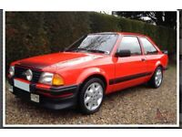 Wanted ford escort RS1600I or RS turbo